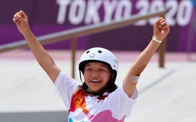 Son medallistas olímpicos de oro y plata. Y tienen 13 años.