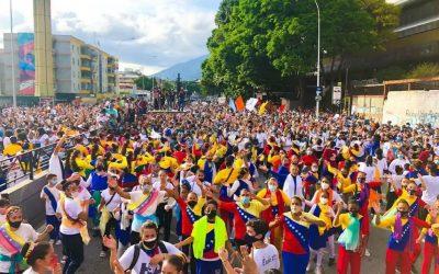 Cristianos piden por la reconciliación de Venezuela con Dios en la «Marcha para Jesús 2021»